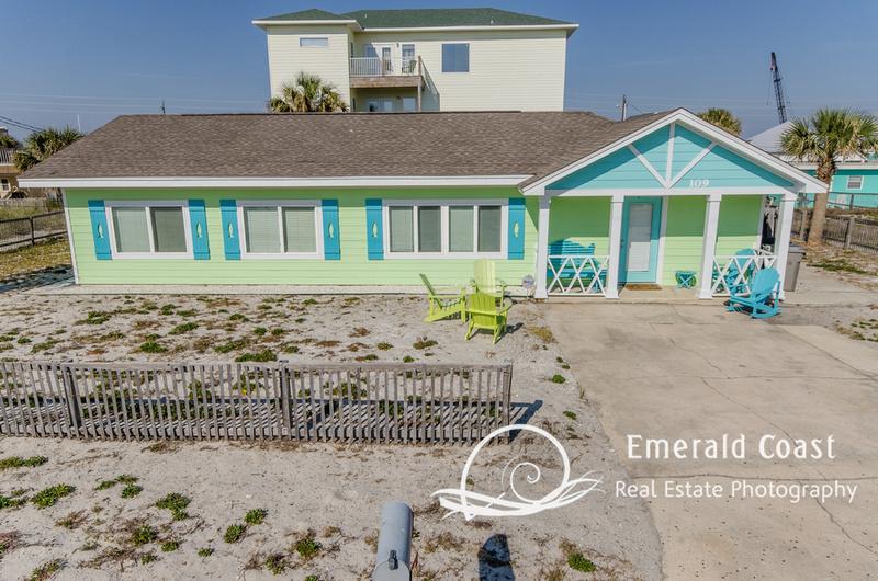 Emerald Coast Real Estate Photography 109 Maldonado Pensacola Beach Fl