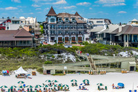 Rosemary Beach Stock Photography