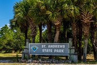 St. Andrews State Park Stock Photography